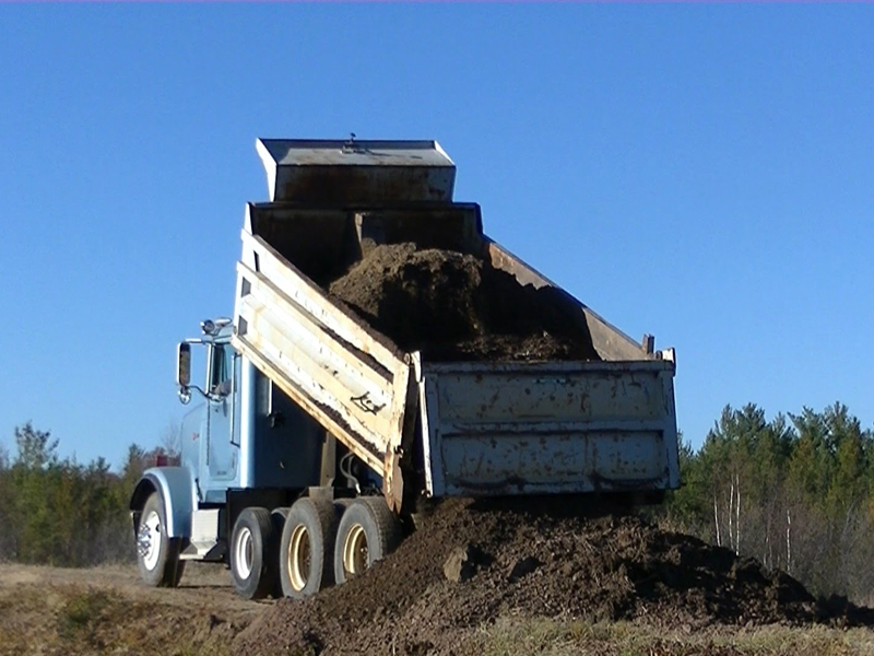 We supply the truck and driver. Hauling On-site or Off-site 24-hours a Day.